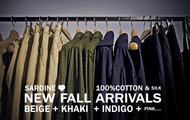 No.45  New fall arrivals