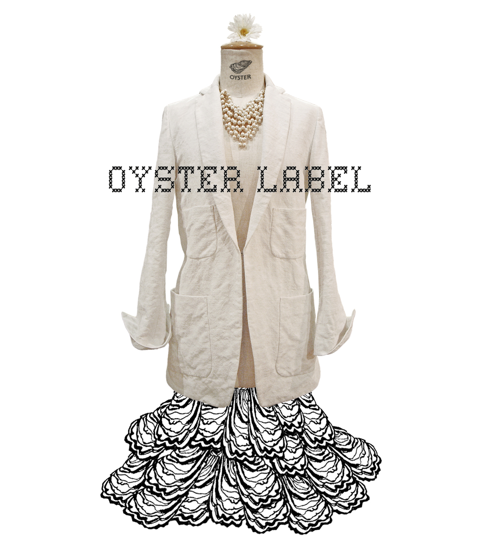 No. 6 oyster label