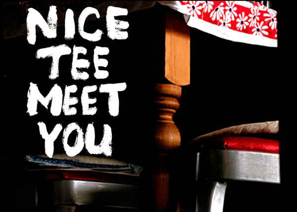 ❶ Nice Tee At Home.