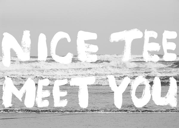 ❷ Nice Tee At The Beach.