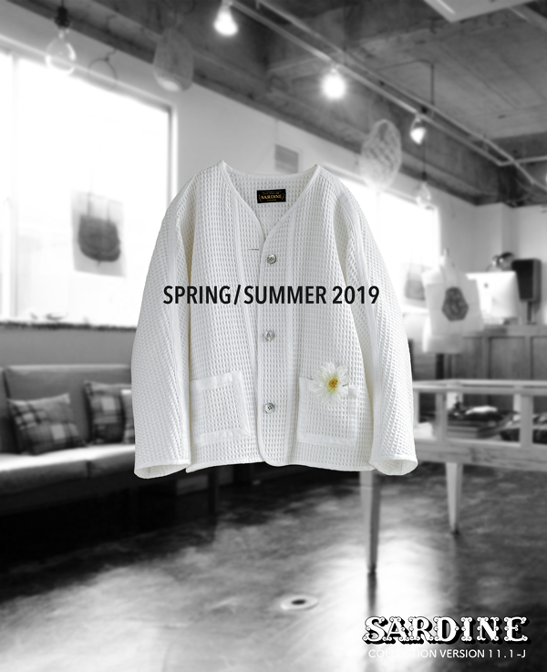 # 187  BEACH CARDIGAN Intro2 SPRING/SUMMER 2019