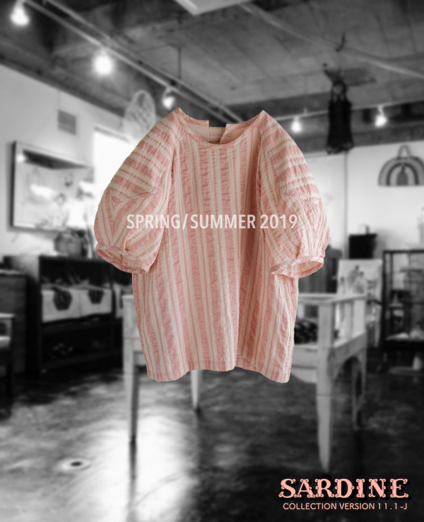 # 189 Pink Blouse  Intro4 SPRING/SUMMER 2019